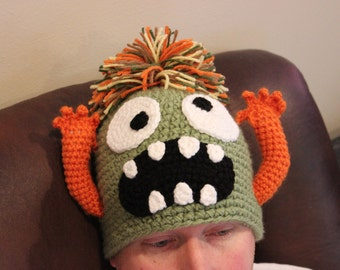 Crazy Monster Hat