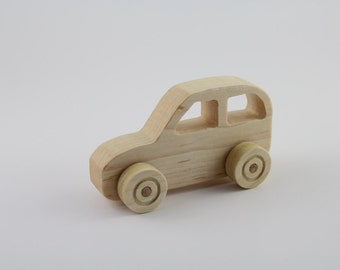 Wooden Car Toy - SUV Body Style - Hard Maple, Baby, Preschool, Waldorf, Montessori, Baby, Preschool, Waldorf, Montessori, Toddler