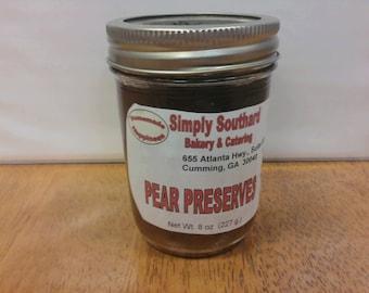 Pear Preserves
