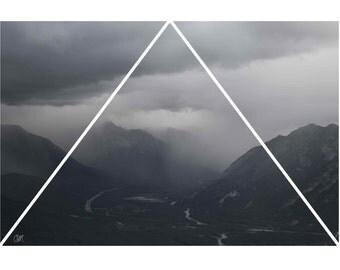 Rain Clouds Print