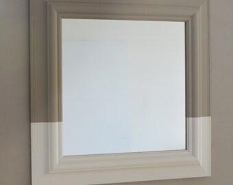 Vierkante Dip- Dye spiegel