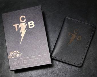 Cowhide Billfold Leather Wallet