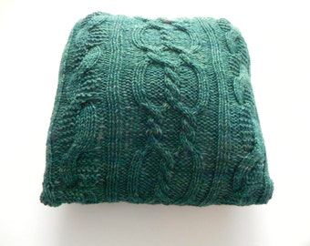 Alice - Knit Cabled Pillow Pattern
