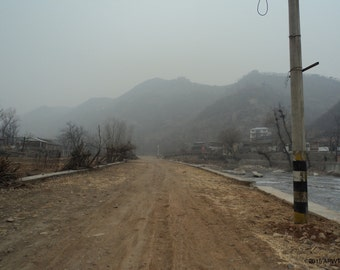 """010 - Photography: Hiking the Great Wall - Beijing, China  - 20"""" x 30"""" (508 x 762mm)"""