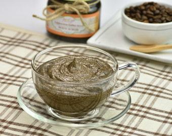 Organic Cappuccino Coffee Scrub