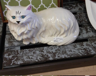 Large Ceramic Persian Cat