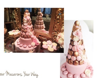 Bespoke Macaron Tower for your Wedding