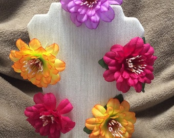 Floral Hair Clip 5 Pack- You Choose!