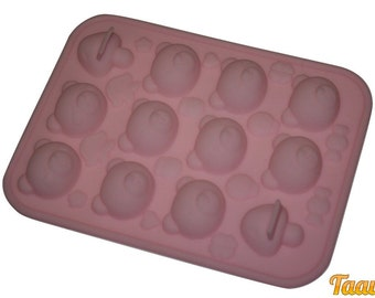 Taavi Decorate with a Bear Silicone Mold (T139)