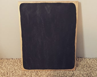 Chalkboard Wood Sign
