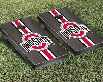 SALE-Ohio State Buckeyes ONYX NCAA Cornhole,Gifts for Men,Husband,Boyfriend,Father,Son,Birthday,Summer Party,Tailgating