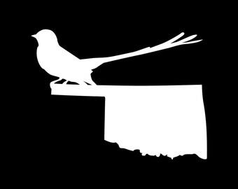 Oklahoma Scissor Tailed Flycatcher