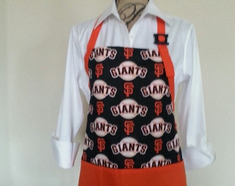 San Francisco Giants Apron, SF Giants, MLB Sports, Baseball Lover Gift