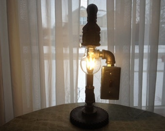 Antique Industrial Light