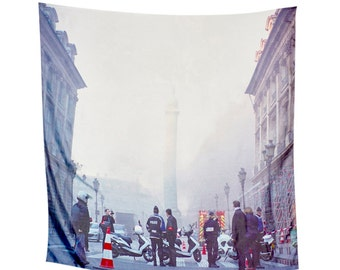 Paris Is Burning designer silk scarf