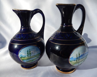 Pair of porcelain jug USSR