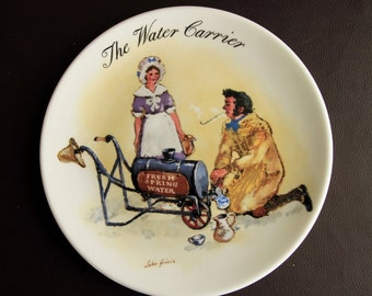 WEDGWOOD PLATE - The Water Carrier by John Finnie
