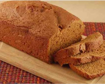 Moist fluffy pumpkin bread