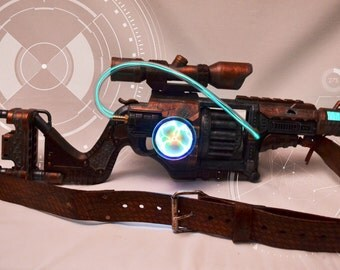 Steampunk/ Cyberpunk/ Cosplay Copper Lawbringer Nerf Gun