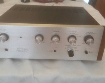 Pioneer SA-500 stereo amplifier
