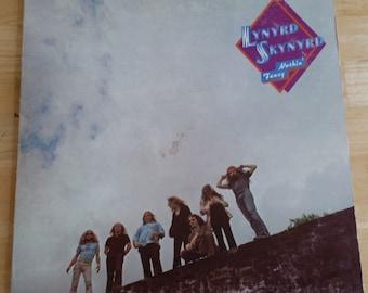 Lynyrd Skynyrd - Nuthin' Fancy - MCA-2137 - 1975 First US Issue (Rainbow Center) - 130g - VG+