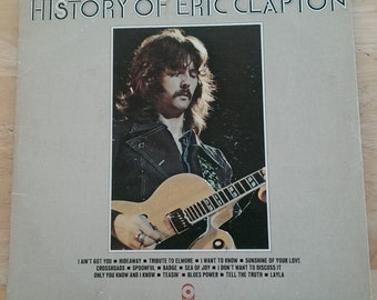 Eric Clapton - History Of Eric Clapton - SD 2-803 - 1972 - Early ATCO release (yellow center) - 120/125 gram - VG+