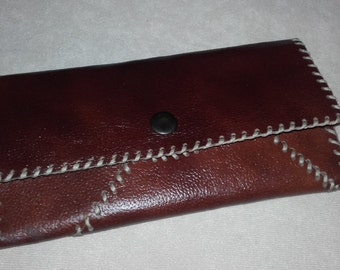 Handmade, Women Leather Wallet