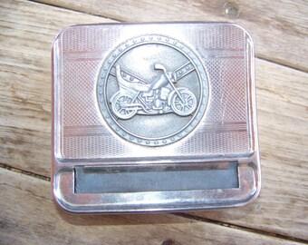Vintage 1960's Motorcycle Chopper Cigarette Rolling Kit