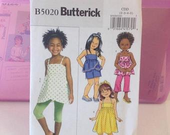 Butterick B5020 size 2-5