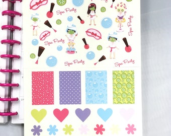Planner Stickers Decorative Pack for Mambi Happy Planner
