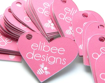 Swing Tags-Labels-Heart Shaped