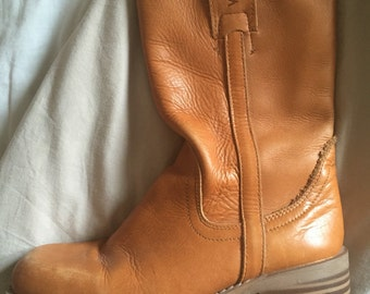 Vintage Wrangler Mid Calf Boots size 37 / 4