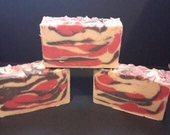 Cranberry woods handmade soap