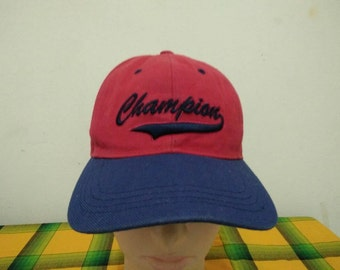 Rare Vintage CHAMPIONS Cap Hat Free size fit all