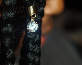 diamond hair cuff