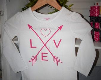 Valentine Shirt Girls, Infant, Toddler
