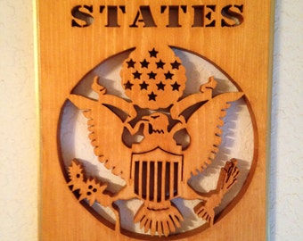 U.S. Army Plaque