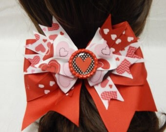 Hearts Galore Bow