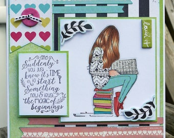 Start Something New handmade card