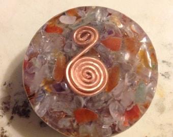 Pocket orgonite