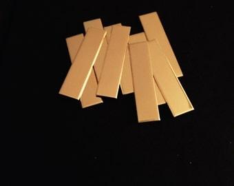 """14K Gold Filled 20 gauge 1/4 x 1.25"""" Stamping Blank, 14K GF Stamping Tag, 14K GF Stamping Bar"""