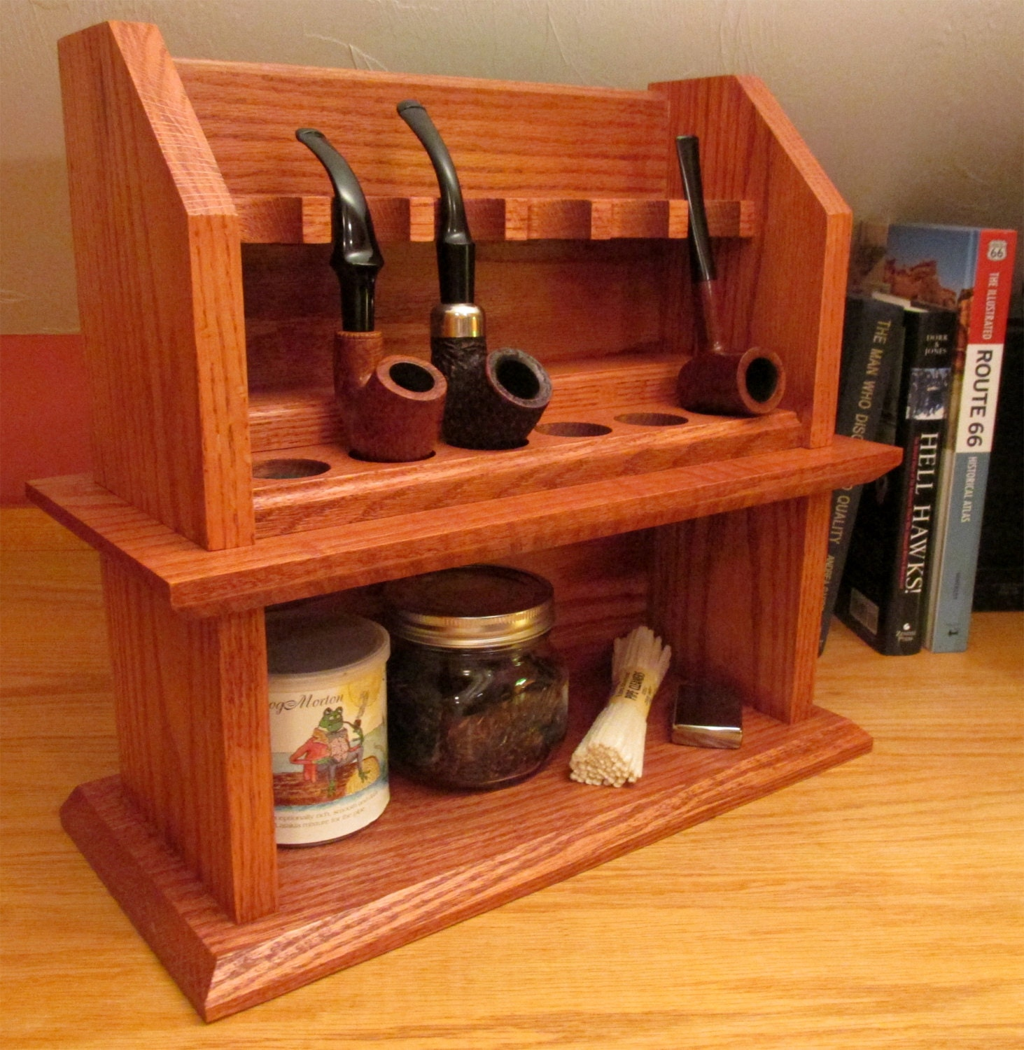 Craftsman Cottage Tobacco Pipe Rack Plan - Build Your Own ...