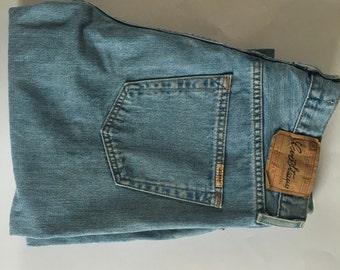 SALE Vintage Levis Strauss Signature Light Blue Jeans Regular 36 x 32 Excellent Condition