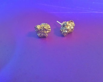 Fools Gold Earrings