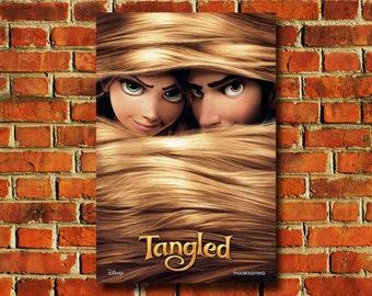 Disney Tangled Movie Poster - #0735
