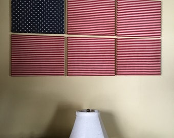 American flag inspired canvas prints