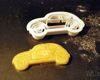 3D Printed VW Beetle Car Cookie Cutter