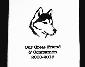 "Pet Memorial Plaque-Engraved Tile-10.8cm (4.25"")"