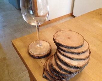 Under glass logs