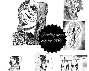Choose your favorite print work!
